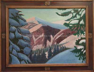 Jindřich Fürst - Zasněžené hory