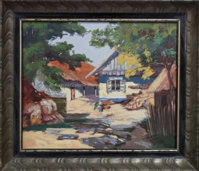 Autor neurčen - Letní vesnice
