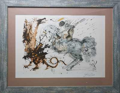 Salvador Dalí - Sv. Jiří a drak
