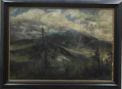 Autor neurčen - Mlha v horách