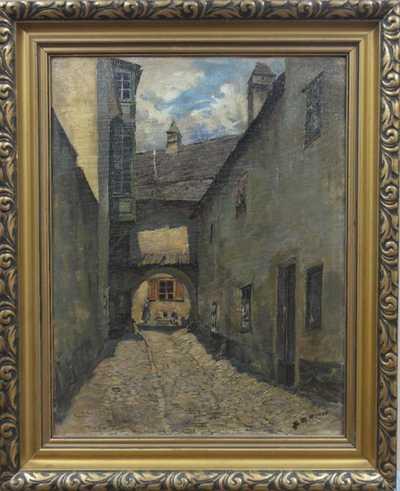Autor neurčen - Ulička na Starém Městě