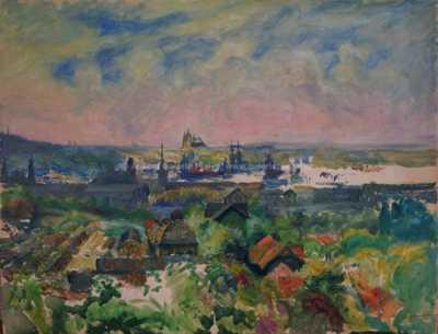 Karel Langer - Pohled z Vítkova