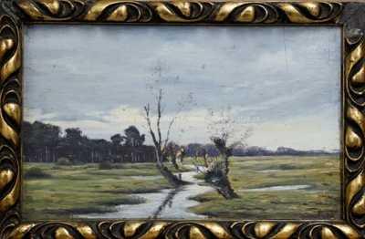 Ferdinand Engelmüller - Vrby u potoka