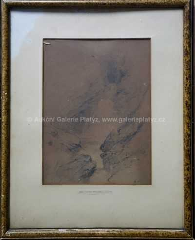 Charlotte Piepenhagen - Horský motiv