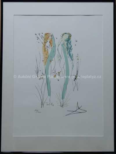 Salvador Dalí - Dvě dívky