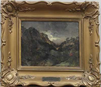 Theodore Rousseau - Romantická krajina u Provence