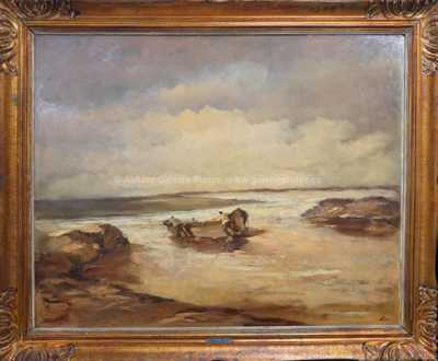 Karel Hodr - Bretaňští rybáři