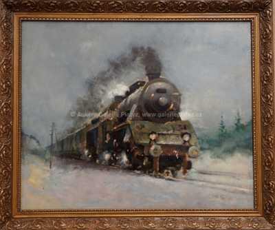 Jaroslav Ronek - Rychlíkový vlak
