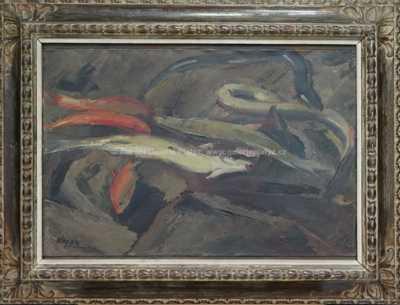 Jan  Kojan - Rybářské zátiší
