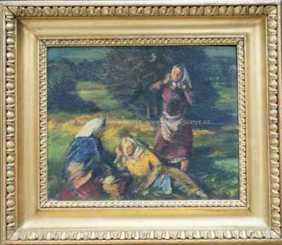 Bohumil Ullrych - Večer v polích