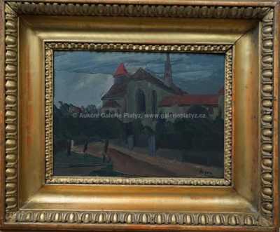 Jan  Kojan - U kostela