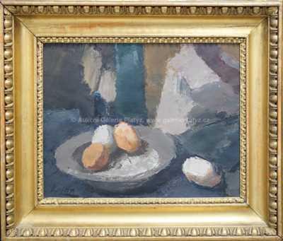 Jan  Kojan - Zátiší s vejci