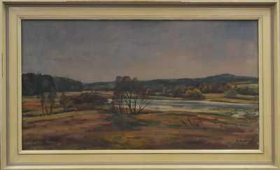 Rudolf Hanych - U řeky