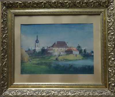 Bohumil Ullrych - Vesnický rybník