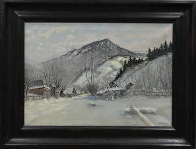 Bohumil Kozina - Chaloupky v zimě