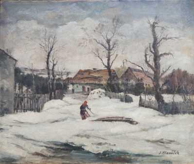Josef Hlaváček - Podle motivu O. Blažíčka