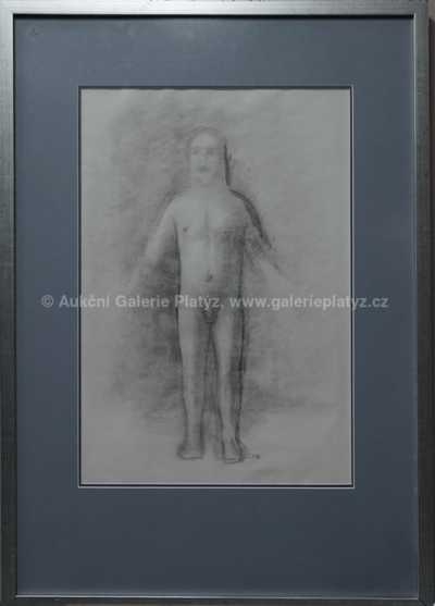 Jan  Zrzavý - Autoportrét