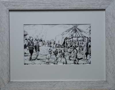 Zdeněk Burian - V indiánském táboře