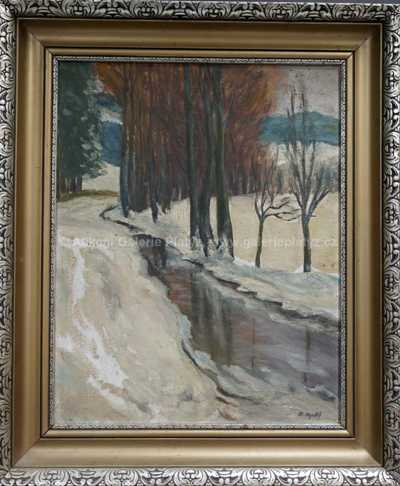 Otakar Nejedlý - Zimní potok