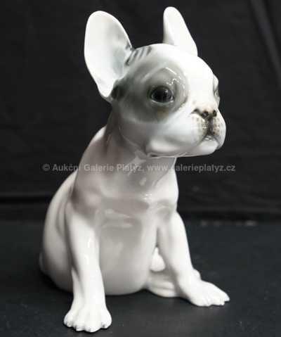 Porcelán - Buldoček