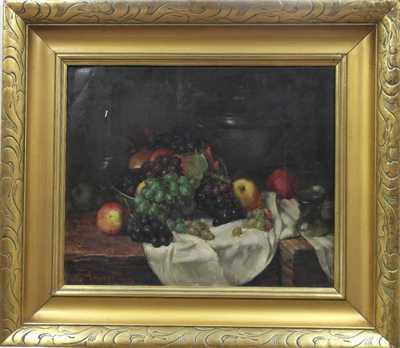 Karel Truppe - Ovocné zátiší