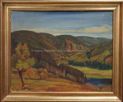 Lucie Klímová - Pohled do údolí