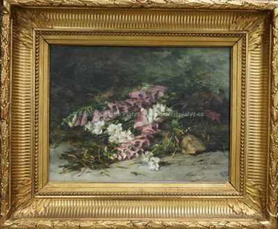 Autor neurčen - Zátiší s květinami