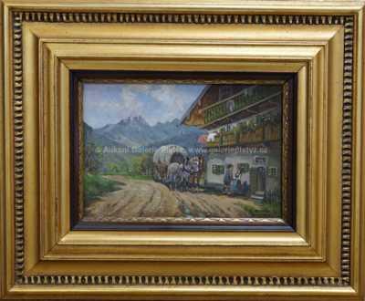 Autor neurčen - Pod Alpami