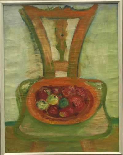 František Jiroudek - Židle s ovocem