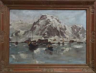 Alois Tužinský (Tužina) - Rybáři v Norsku