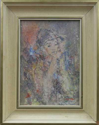 Vilém (Willi) Nowak - Portrét dívky