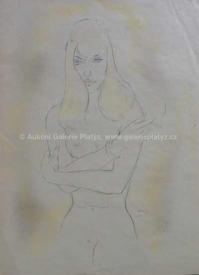 Jaroslav Veris (Zamazal) - Dívka s cigaretou