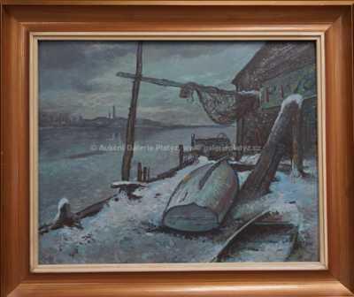 Jaroslav Veris (Zamazal) - Zima na Vltavě