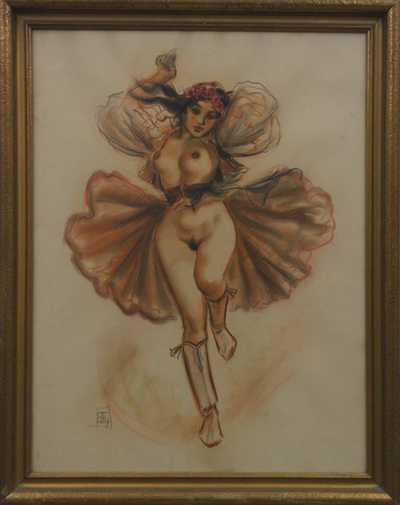 Akt tanečnice