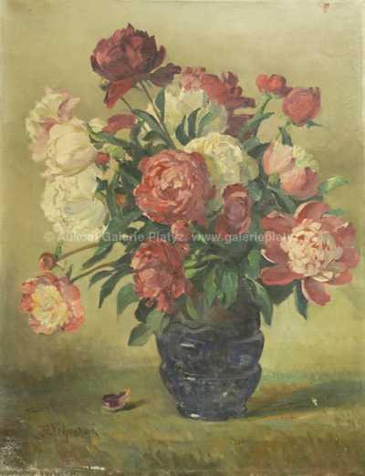 Božena Vohánková - Květinové zátiší