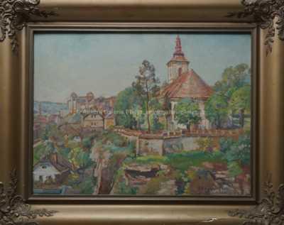 Božena Vohánková - Letní kostelík