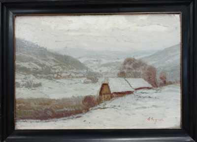 Antonín  Augusta - Zasněžené údolí
