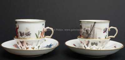 Porcelán - Konvolut dvou kusů