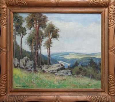 Otakar Hůrka - Borovice nad řekou