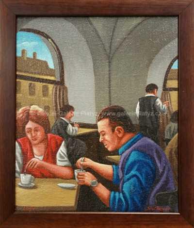 Jan Šafránek - V Malostranské kavárně
