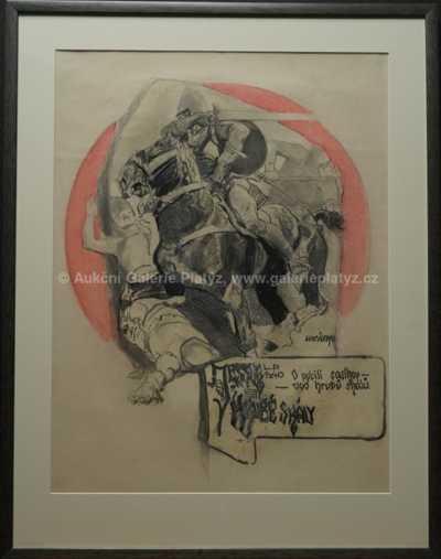 Ludvík Vacátko - Návrh na plakát