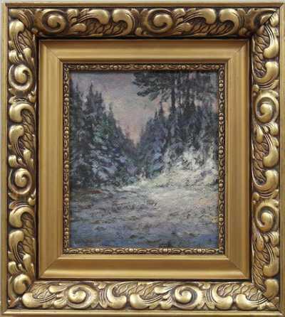Josef Holub - Soumrak v lese