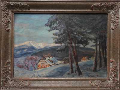 Josef Fiala - Zima na horách