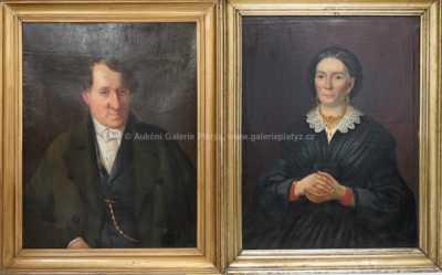 Nesignováno - Konvolut dvou portrétů