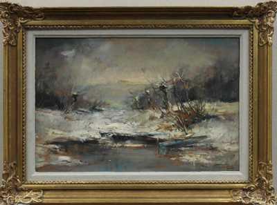 Jan Bohumil Pospíšil - Loďky v zimě
