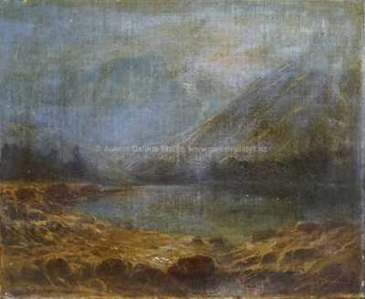 Jan  Novopacký - Horské jezero