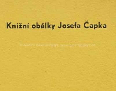 Josef Čapek - Knižní obálky Josefa Čapka