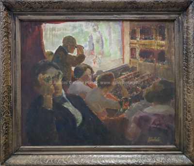 František Jakub - Divadelní scéna