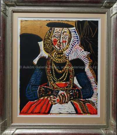 Pablo Picasso - Dáma s náhrdelníkem