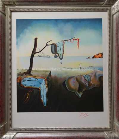 Salvador Dalí - Tekoucí hodiny